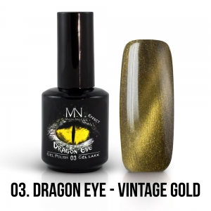 03 Dragon Eye - Vintage Gold