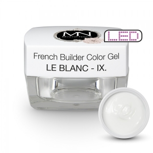 French Builder Color Gel - IX. - le Blanc - 15g