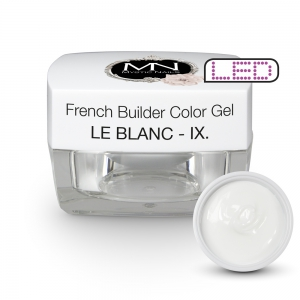 French Builder Color Gel - IX. - le Blanc - 4g