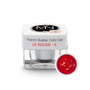 French Builder Color Gel - II. - le Rouge - 4g - Limited Edition