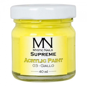 Supreme Acrylic Paint Giallo