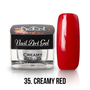 UV Painting Nail Art Gel - 35 - Creamy Red - 4g